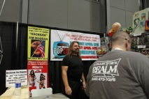 Best sights include Hacksaw Jim Duggan from WWF back in the 90s and accidentally bumping into the man himself, Stan Lee, who left his autograph signing early.